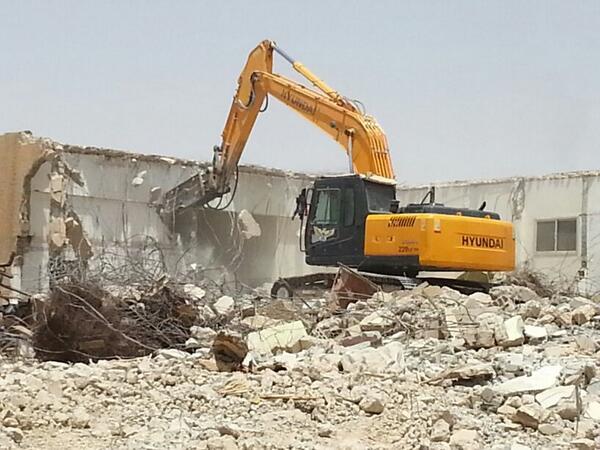 شركة هدم مباني بمدينة الرياض